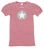 Smallstuff - T-Shirt gestreift mit Stern-Girl