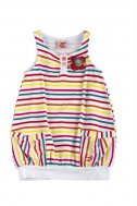 Jersey Träger-Kleid, SUNSHINE