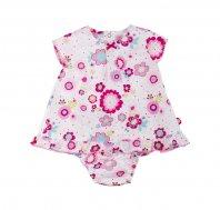 TUC TUC, Baby-Kleid mit Höschen, L'ESPIRIT DES FLEURS