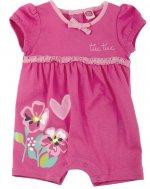 TUC TUC, Kurzer Schlafanzug/Spieler und Wäschesäckchen, RETRO FLOWERS