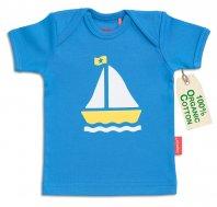 """tapete® Bio-Baumwoll Baby-T-Shirt """"Sale away"""""""