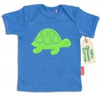 "tapete® Bio-Baumwoll Baby-T-Shirt ""Fred Turtle"""