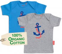 "tapete® Bio-Baumwoll Baby-T-Shirt ""Sailor Kid"""