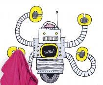 Chispum – Wandtattoo Robotergarderobe