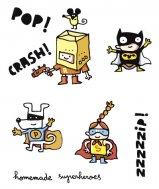 Chispum – Wandtattoo Superhelden