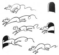 Chispum – Wandtattoo Mäuse