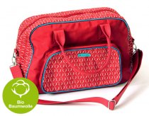 "Froy & Dind Wickel-/Reisetasche ""Oslo red"""