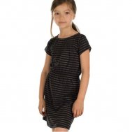 "Froy & Dind Kleid Angel ""STRIPES GOLD"""