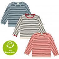 FUB SS19 Kids und Baby Striped Blouse (Bio-Baumwolle)