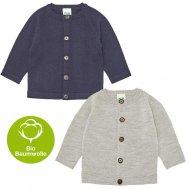 FUB SS19 Baby Basic Cardigan (Merinowolle)
