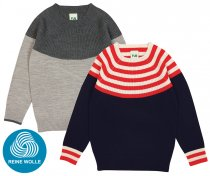 FUB AW18 Kids Feinstrickpullover, Colour Blouse (Merinowolle)