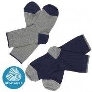FUB AW17 Kids und Damen Extrafeinstrick Socken, (Merinowolle)