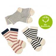 FUB SS19 Extrafeinstrick Socken (Bio-Baumwolle)