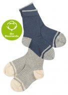 FUB SS16 Extrafeinstrick Socken (Bio-Baumwolle)
