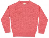 FUB AW16 Kids Mädchen Feinstrickpullover (Lace Blouse), (Merinowolle)