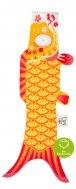 Madame Mo - Koinobori (S), japanische Fischfahne Indian Yellow