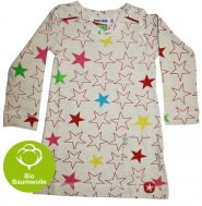 "KIK*KID Kids Bio-Baumwollkleid ""Melee Big Star"""