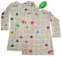 "KIK*KID Baby Bio-Baumwollkleid ""Melee Big Star"""