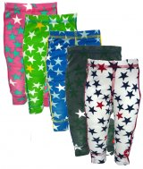 "KIK*KID Jersey Leggings ""print star"""