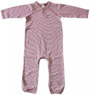 Smallstuff - Strampler/Schlafanzug gestreift ohne Füße-Girl
