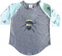 nosweet 7/8 Raglanshirt Biene