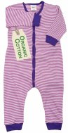 PWO Overall/Strampler/Schlafanzug pink gestreift