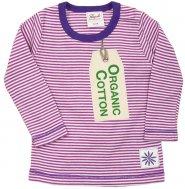PWO Langarmshirt pink gestreift