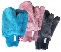 "KIK*KID Fäustlinge ""Mittens fur"" aus Teddy-Fleece"