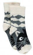 "Ubang - Talkie Walkie Socken ""Racoon"""