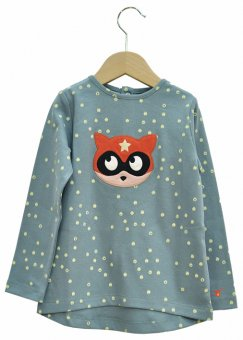 "La queue du chat – Langarmshirt ""Super Kitten"""
