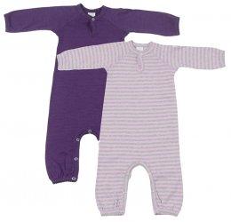 Smallstuff - Strampler/Schlafanzug gestreift ohne Füße; Mädchen