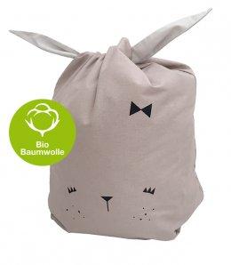 """Fabelab – Canvas Storage Bag """"Cute Bunny"""""""