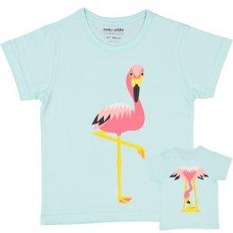 coq en pâte T-Shirt, Flamingo