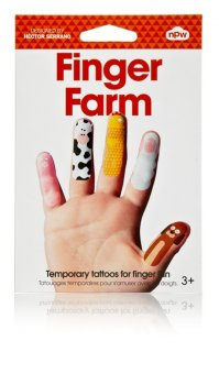 NPW – Finger Tattoos Bauernhof