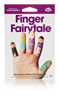 NPW – Finger Tattoos Märchen