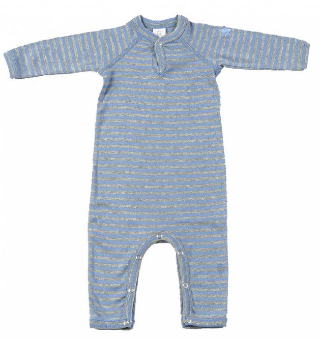 Smallstuff - Strampler/Schlafanzug gestreift ohne Füße