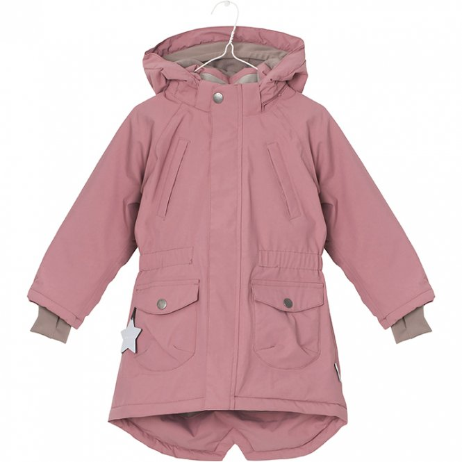 "Mini A Ture – Winter Kaputzenparka ""Vibse"", rose"