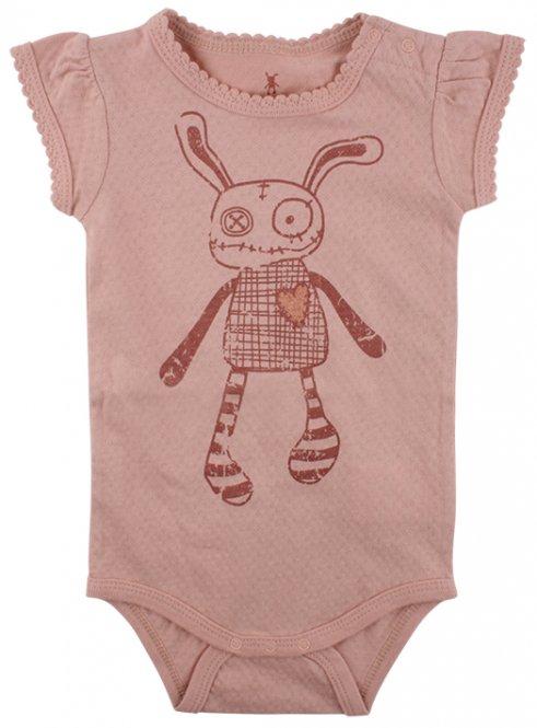 Small Rags – Kurzarmbody für Mädchen