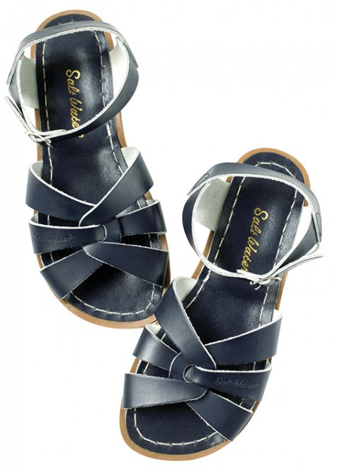 "Salt-Water ""Original"" Kids Sandalen Größe 32-35, navy"