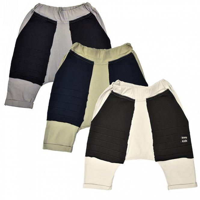 3fnky kids - Black Pocket Shorts