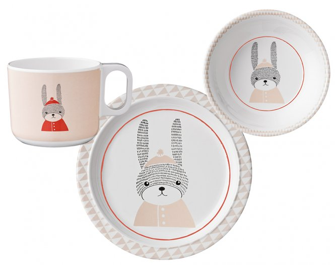Bloomingville Geschirr-Set Sophia Hase