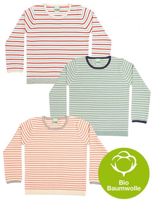 FUB SS16 Baby und Kids Striped Blouse (Bio-Baumwolle)