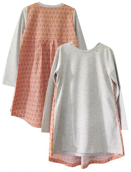 LolayLolo – Nachthemd/Kleid Orange Mishmash Langarm