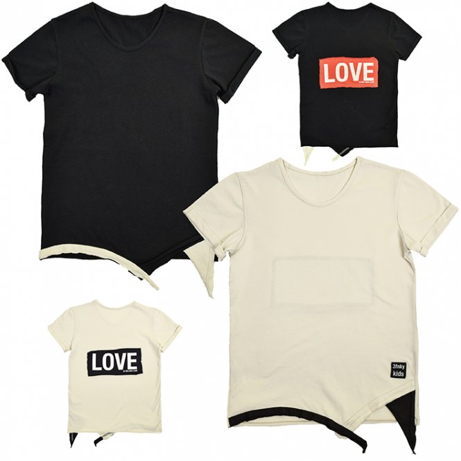 3fnky kids - LOVE T-Shirt