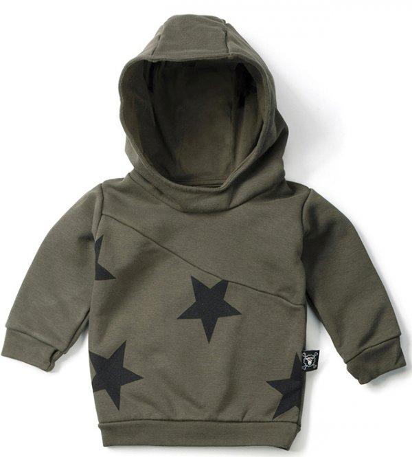 NUNUNU Kapuzensweatshirt Sterne