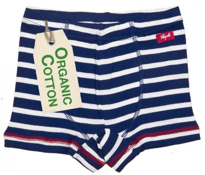PWO Shorts dunkelblau geringelt
