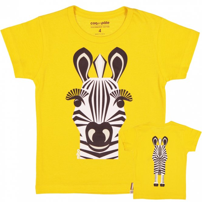 coq en pâte T-Shirt, Zebra