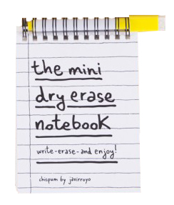 Chispum – Whiteboard Notizbuch Mini