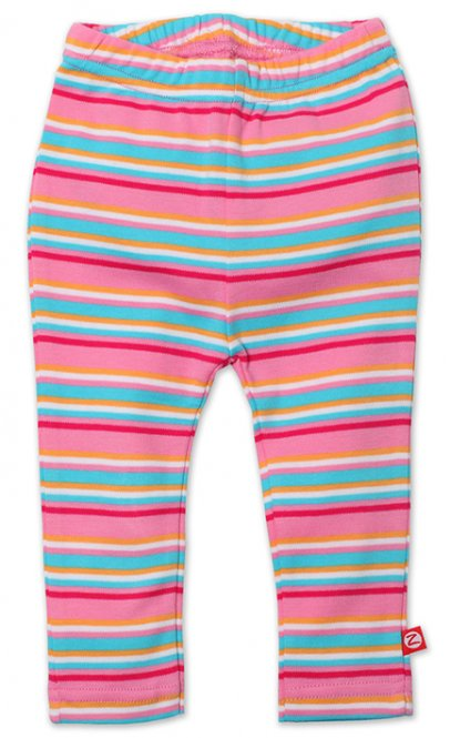 Zutano Baby Leggings bunt gestreift