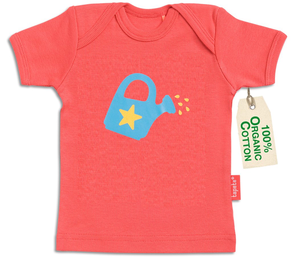 Tapete organic cotton baby t shirt water me buy for Natural cotton t shirts